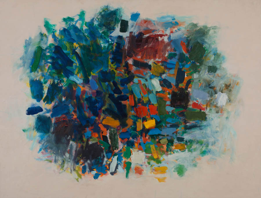 Untitled, c. 1960s, Oil on Canvas