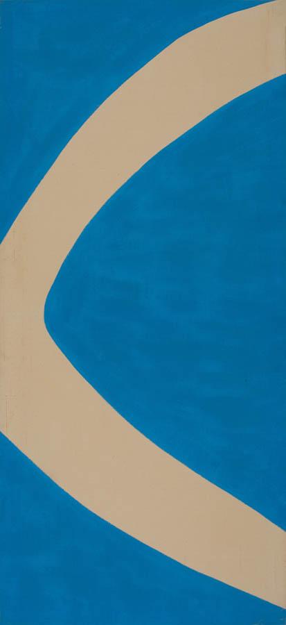 Gestures (Blue), 1970, Acrylic on Canvas