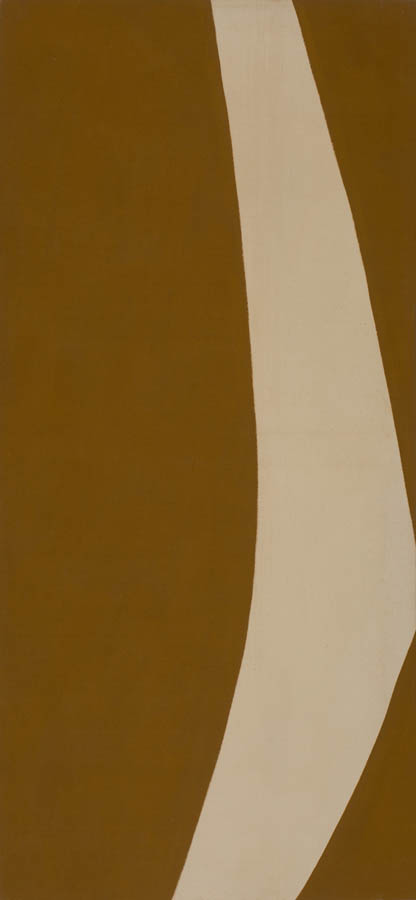 Gestures (Brown), 1970, Acrylic on Canvas