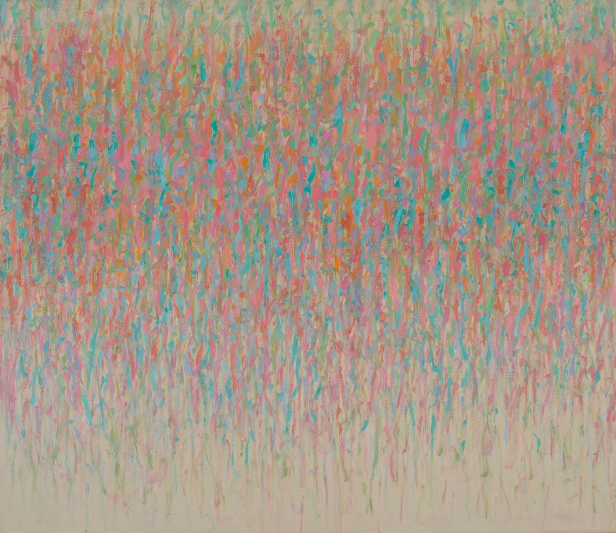 Untitled, 1980, Acrylic on Canvas