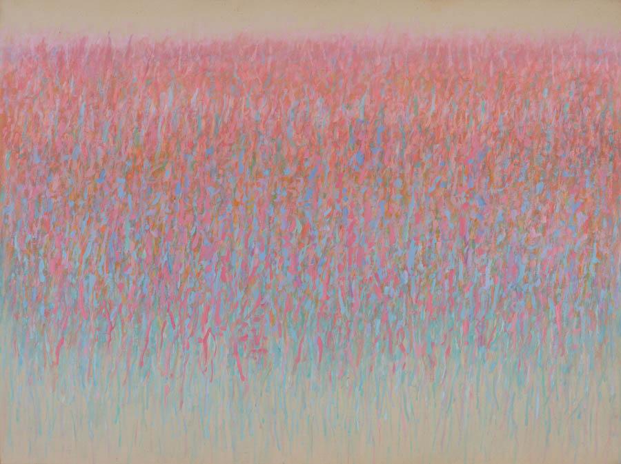 Light Poem, 1986, Acrylic on Canvas