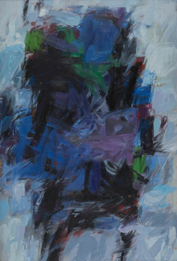 Blue Painting, c. 1960s, Oil on Canvas