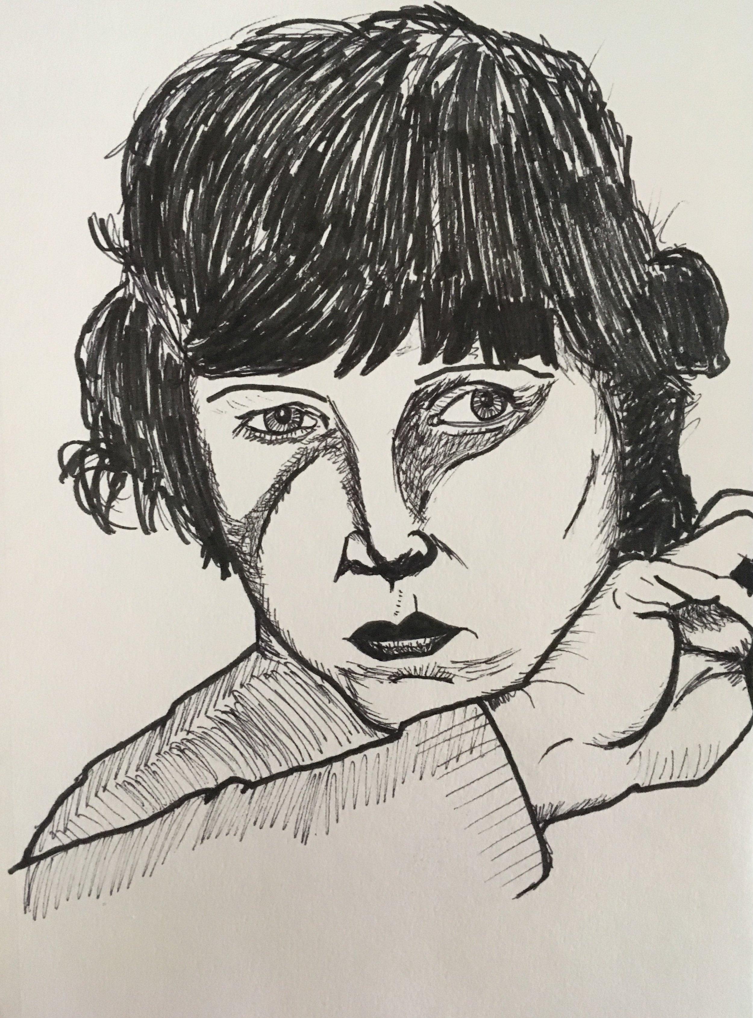 portrait of Lotte Lenya