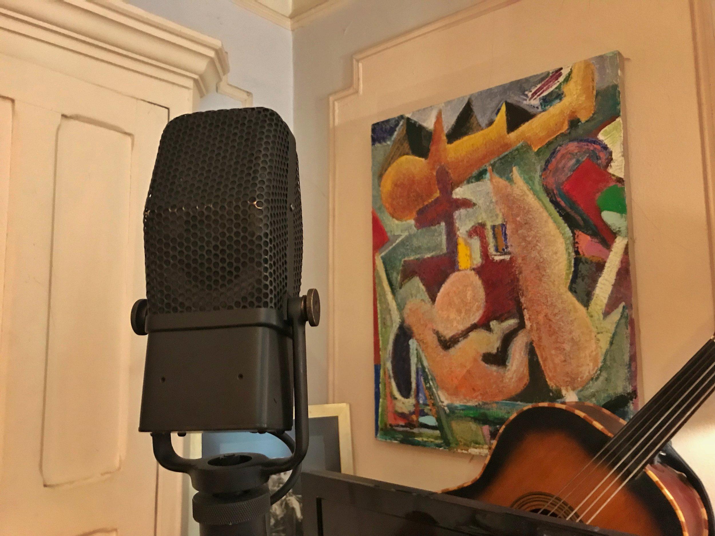 RCA 44A  ribbon mic, made in Camden, NJ 1940