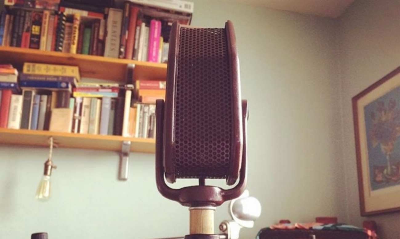 Amperite RAH  ribbon mic, made in NYC 1935