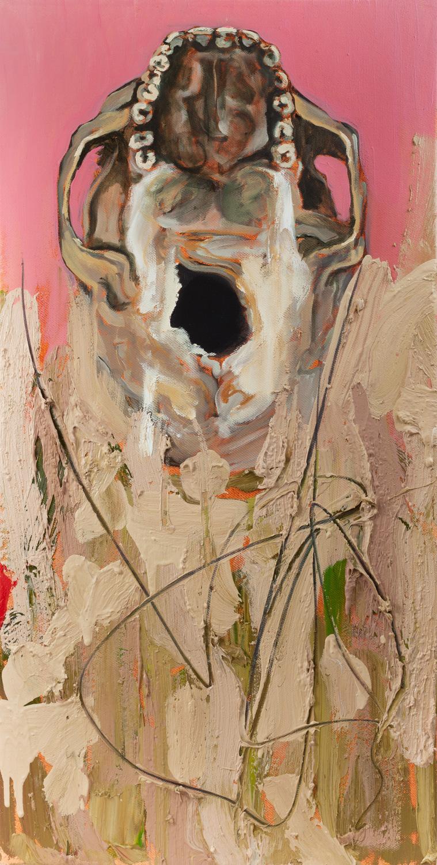 Foramen magnum, Oil on canvas, 30x60 cm, 2014
