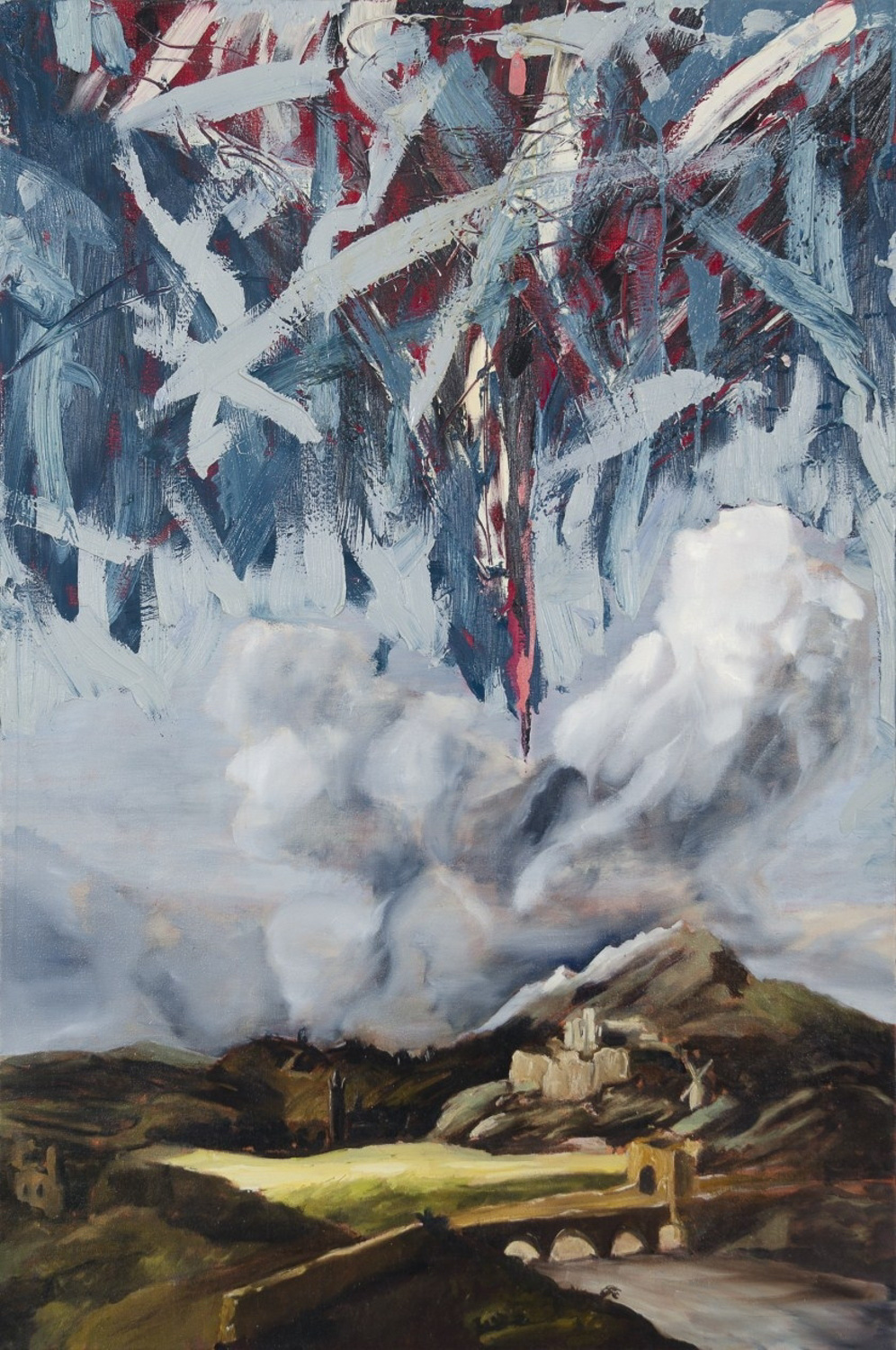 Heaven Emasculated, Oil on canvas, 160x100 cm, 2012