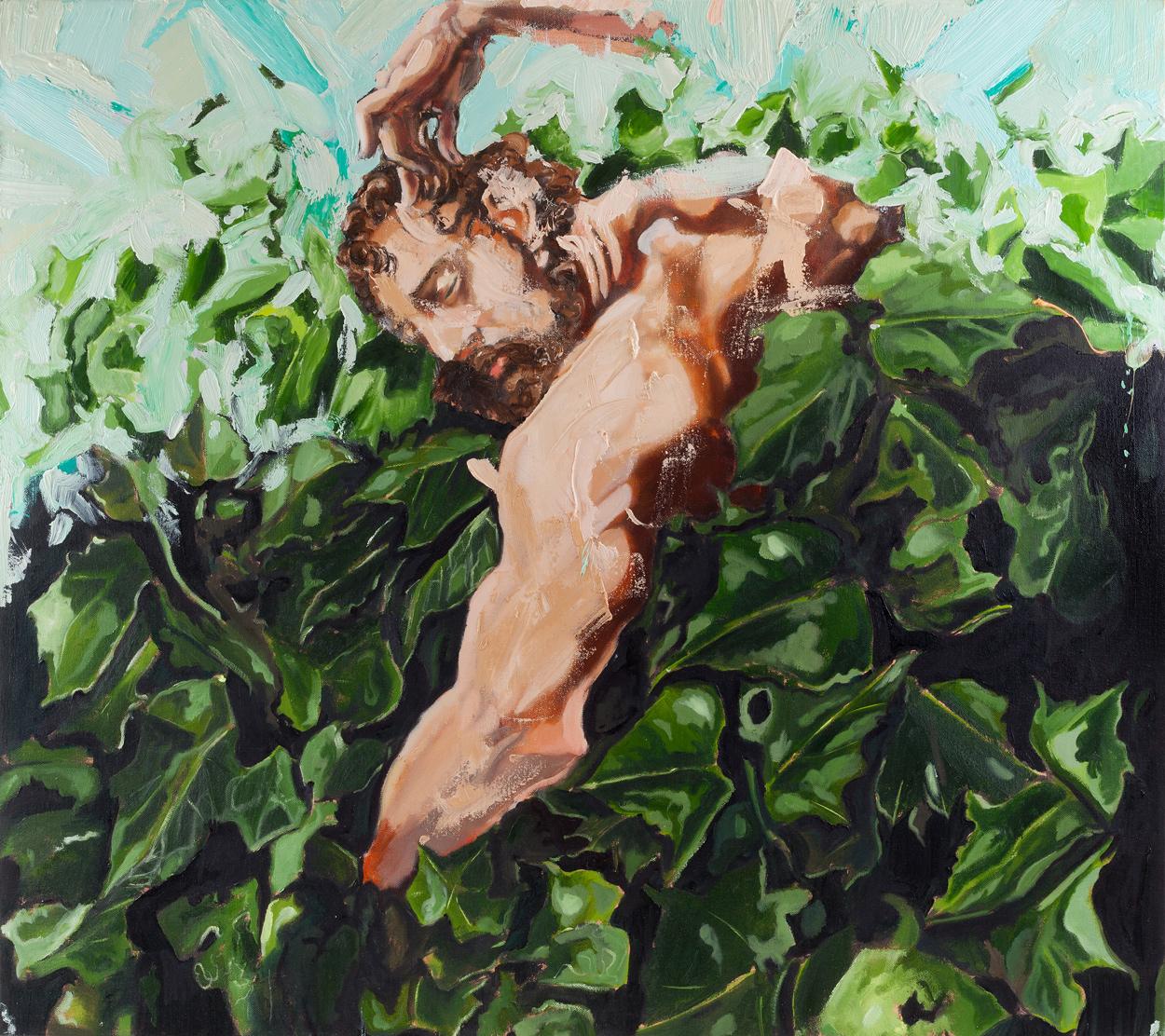 Ivy Samson II, Oil on canvas, 80x90 cm, 2013