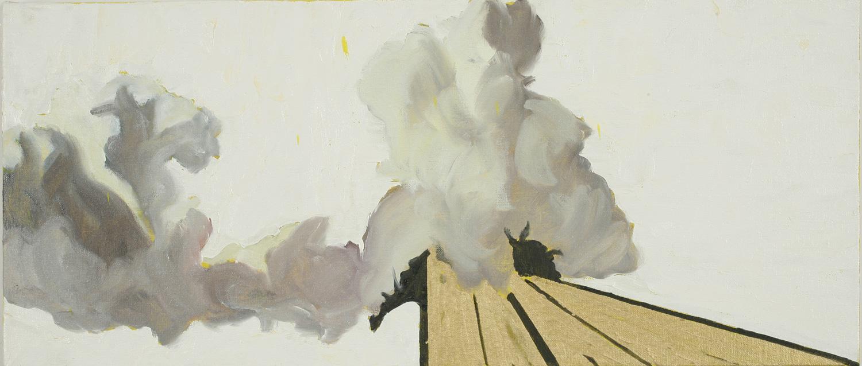 Ruisdael Clouds IV, Oil on canvas, 20x60 cm, 2008