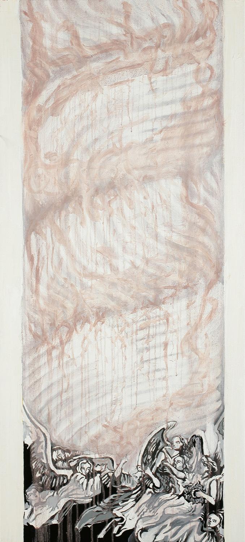Column, Oil on canvas, 100x40, 2008