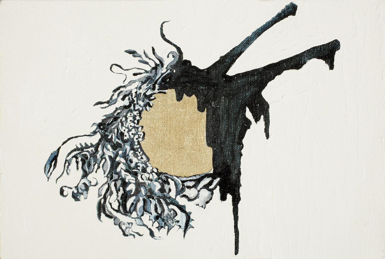 Wreath IV, Oil on canvas, 20x30cm, 2008