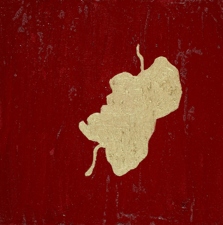Bloodstain II, Oil on canvas, 30x30 cm, 2008