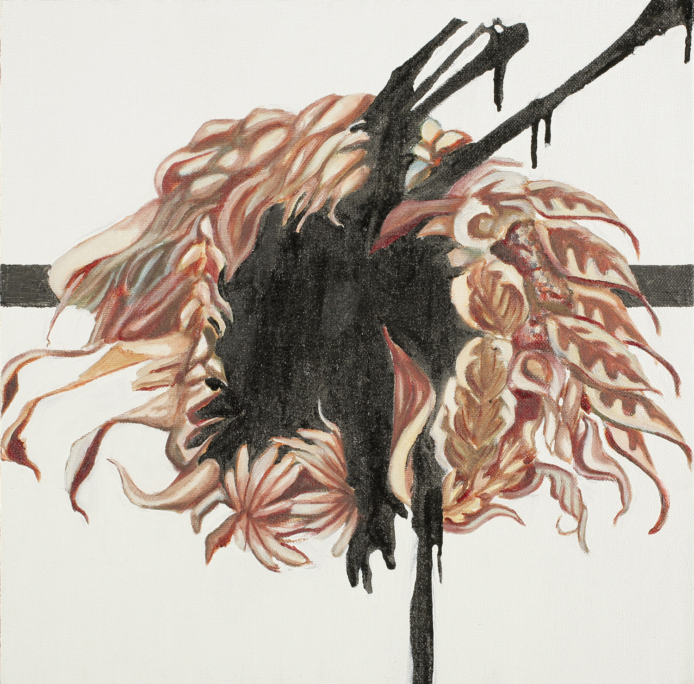 Wreath VI, Oil on canvas, 50x50 cm, 2008