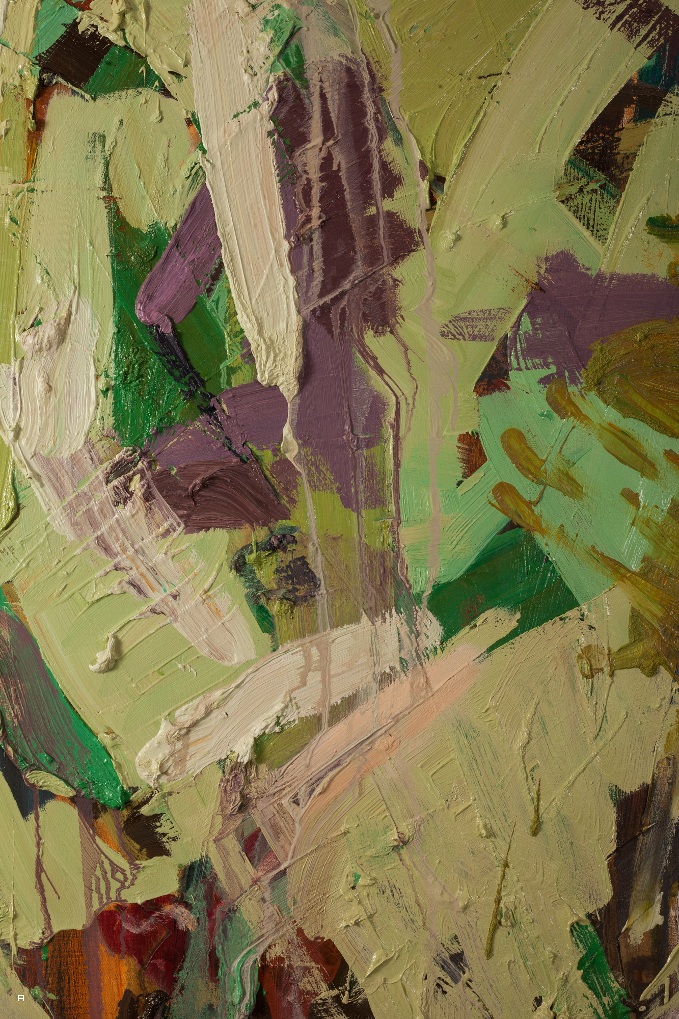 Flaying (detail), Oil on canvas, 160x100 cm, 2016