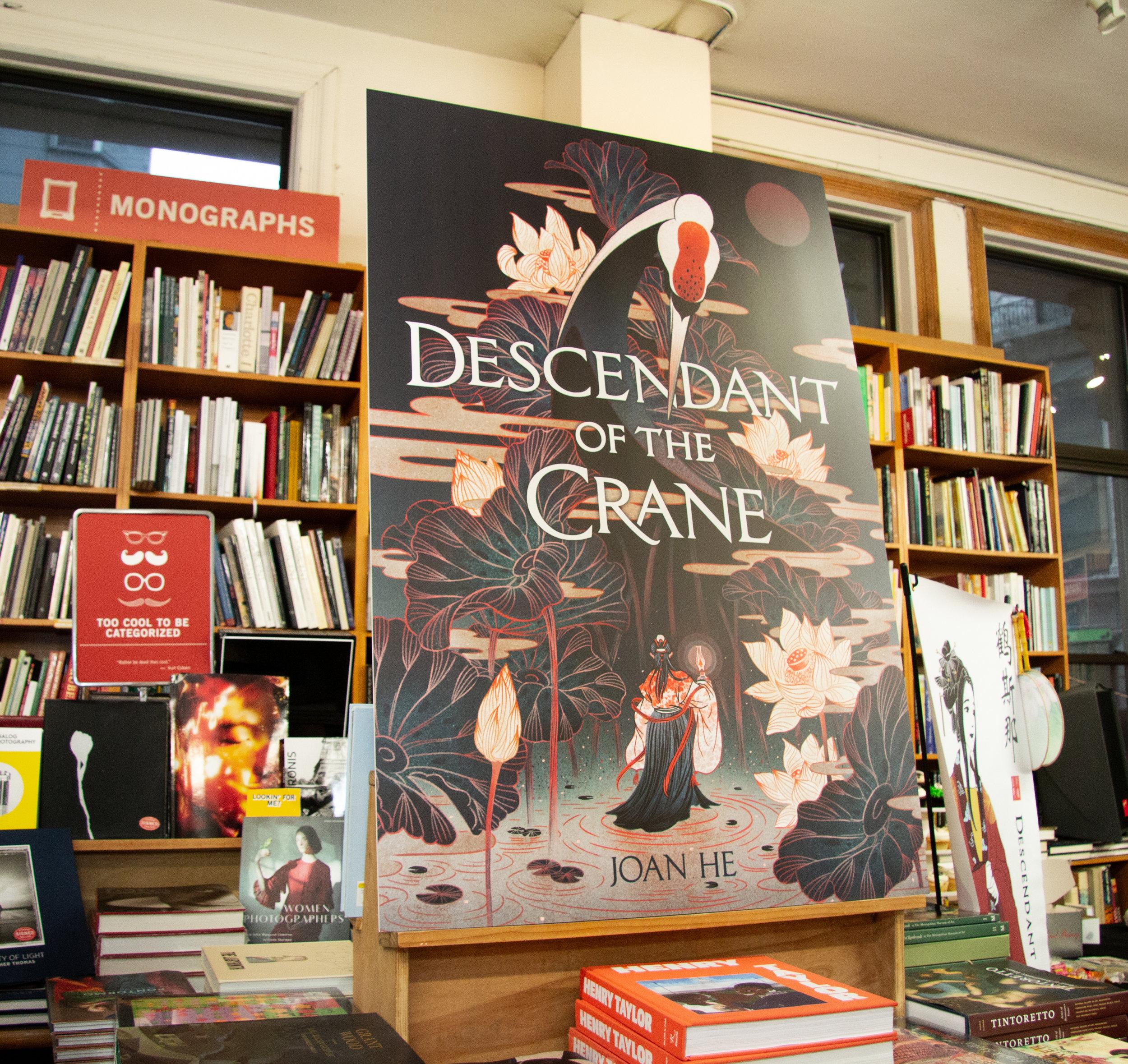 April 9th, 2019 - Descendant of the Crane book launch @ Strand Bookstore, NYCEvent Photographer: Cydney Blitzer