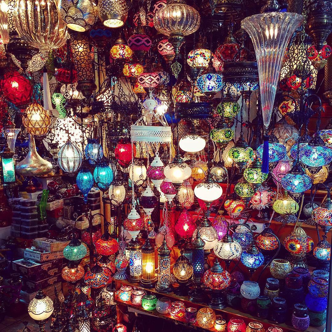 Lanterns on Lanterns at the Grand Bazaar (PHOTO:  Katie Cline )