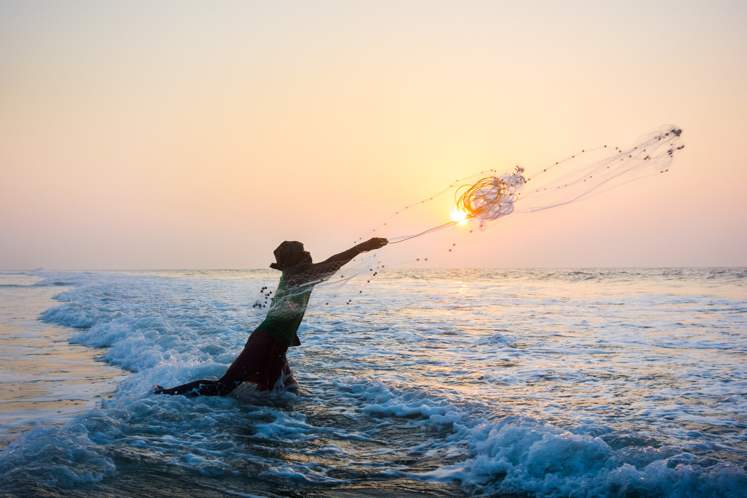 Fisherman in the Sun, Odisha, India.jpg