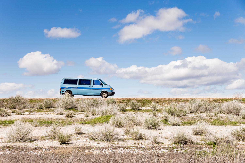 20170409__Antelope State Island Park, Van with Clouds, Davis County Causeway 2,  Great Salt Lake    __MG_2356_GurudayalKhalsa_GurudayalKhalsa.jpg