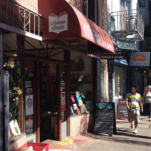Adobe Books San Francisco