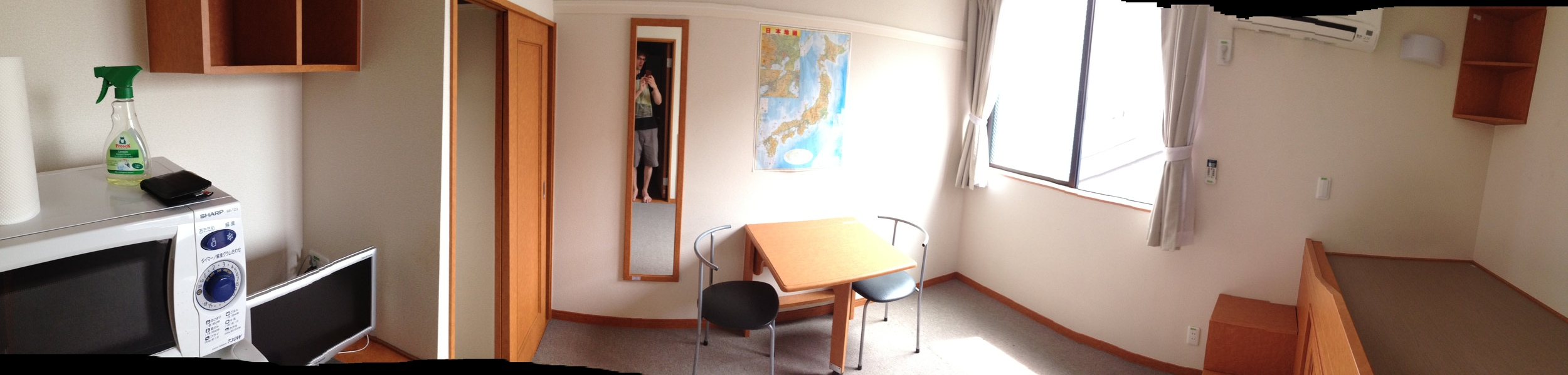 My small apartment in Ikeda.