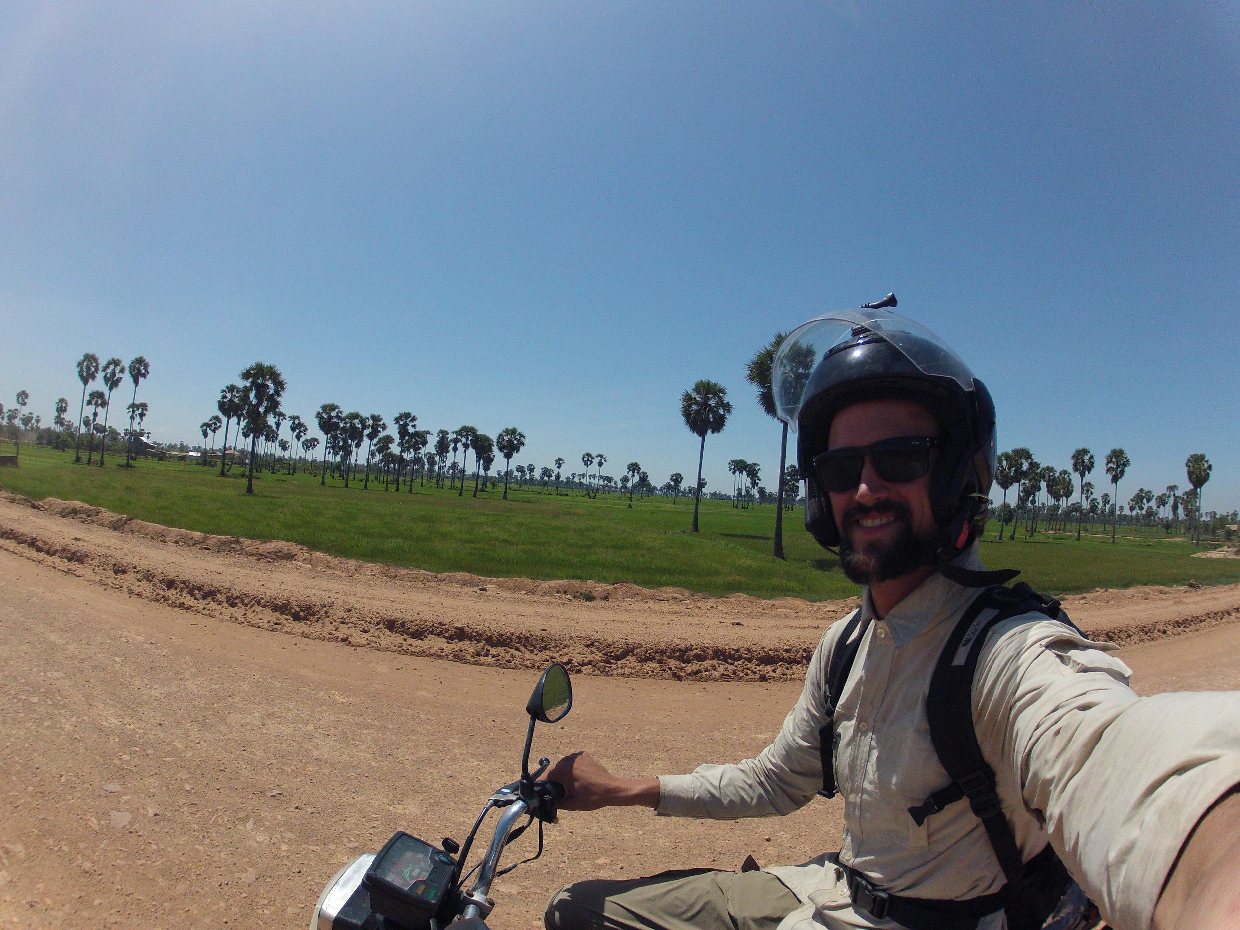 Highway 6 from Phnom Penh to Siem Reap