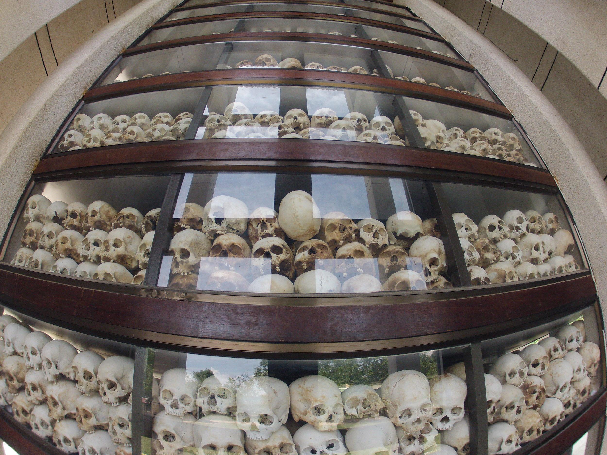 The Choeung Ek Genocidal Center, Killing Fields Museum in Phnom Penh
