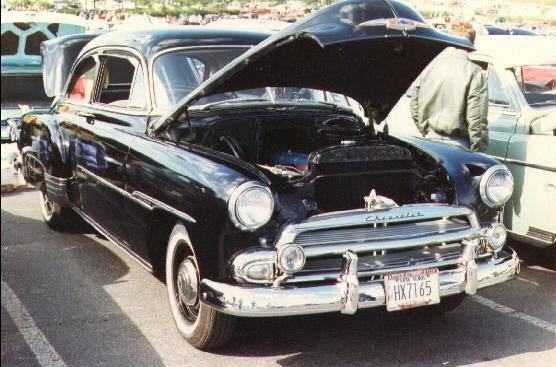 1951 Chevrolet Styleline Deluxe 2-Dr.     3rd Junior Hershey 1986