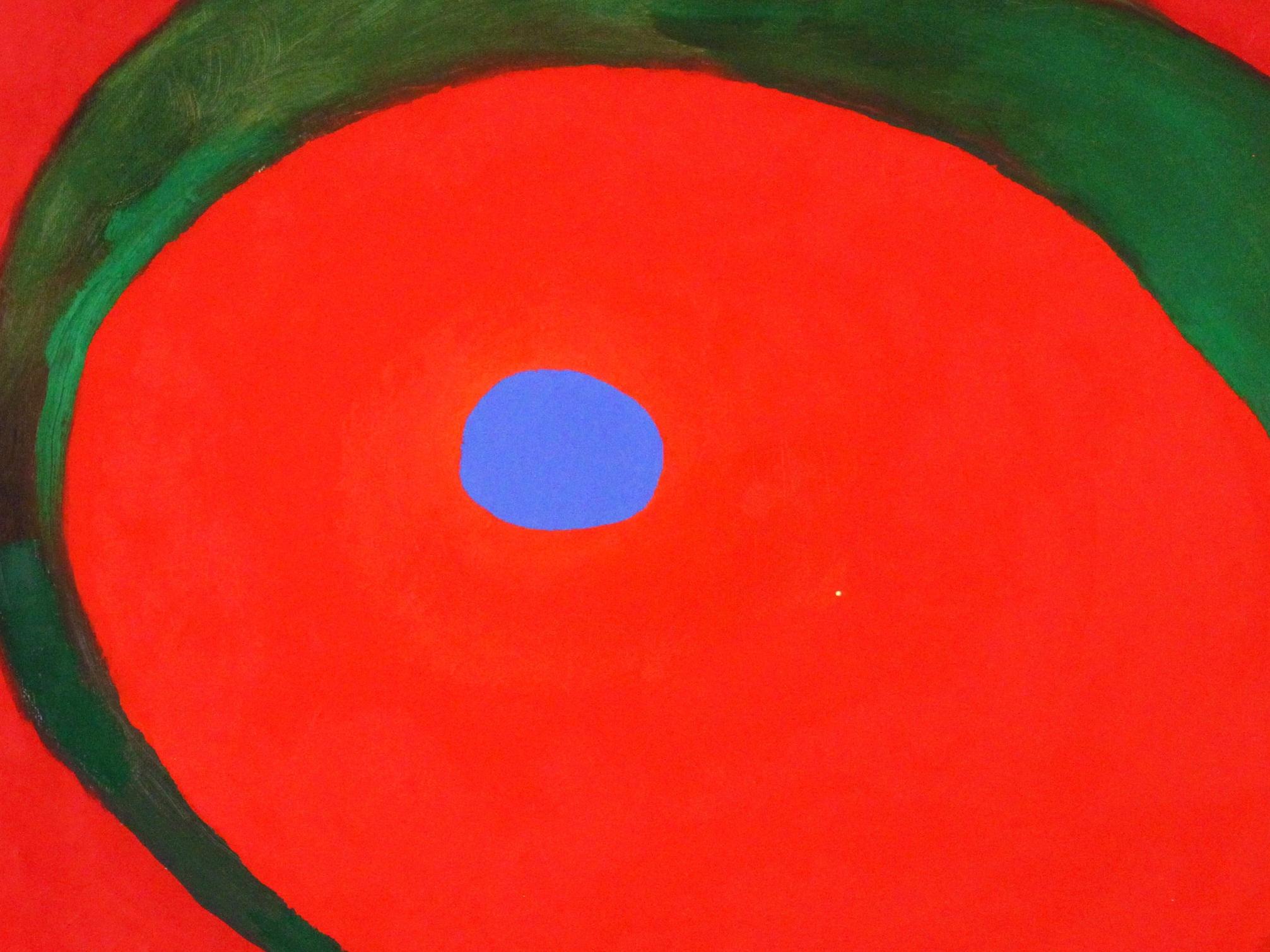 만남Encounter - A body of work with a focused use of color as form;an invitation into the immersing movement of the surface.