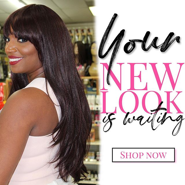 Want a new look? Give a wig a try! Stop by our Crenshaw location today to transform your look! #girlcavelabeauty  Select wigs available online! #newwigs #wigsforblackwomen #hair #weaves #haircare #protectivehairstyles