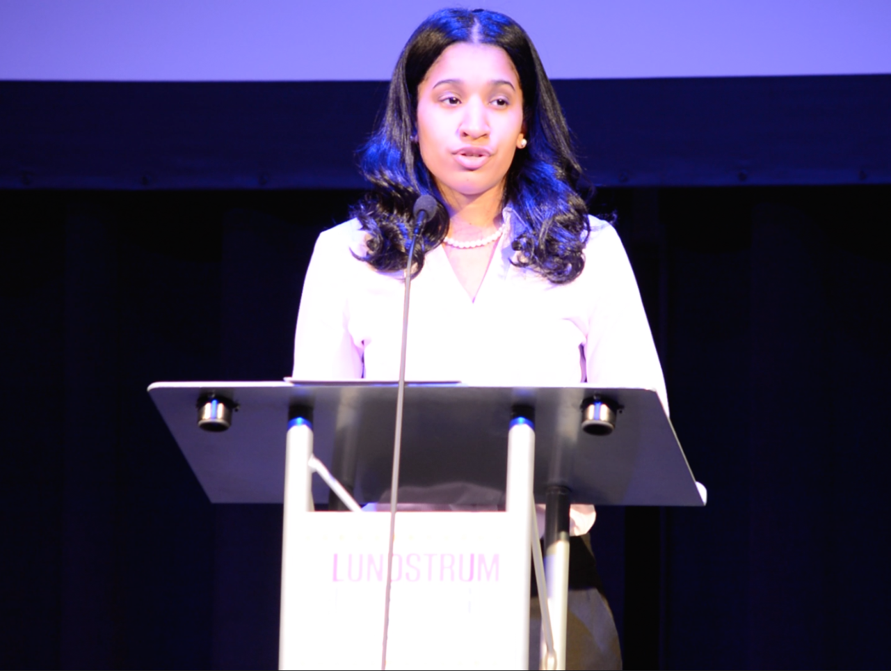 At the 2017 Inspiring Dreams Breakfast, Ashley Brown shared how dance built her confidence and helped her pursue her dream of a career in criminal justice.