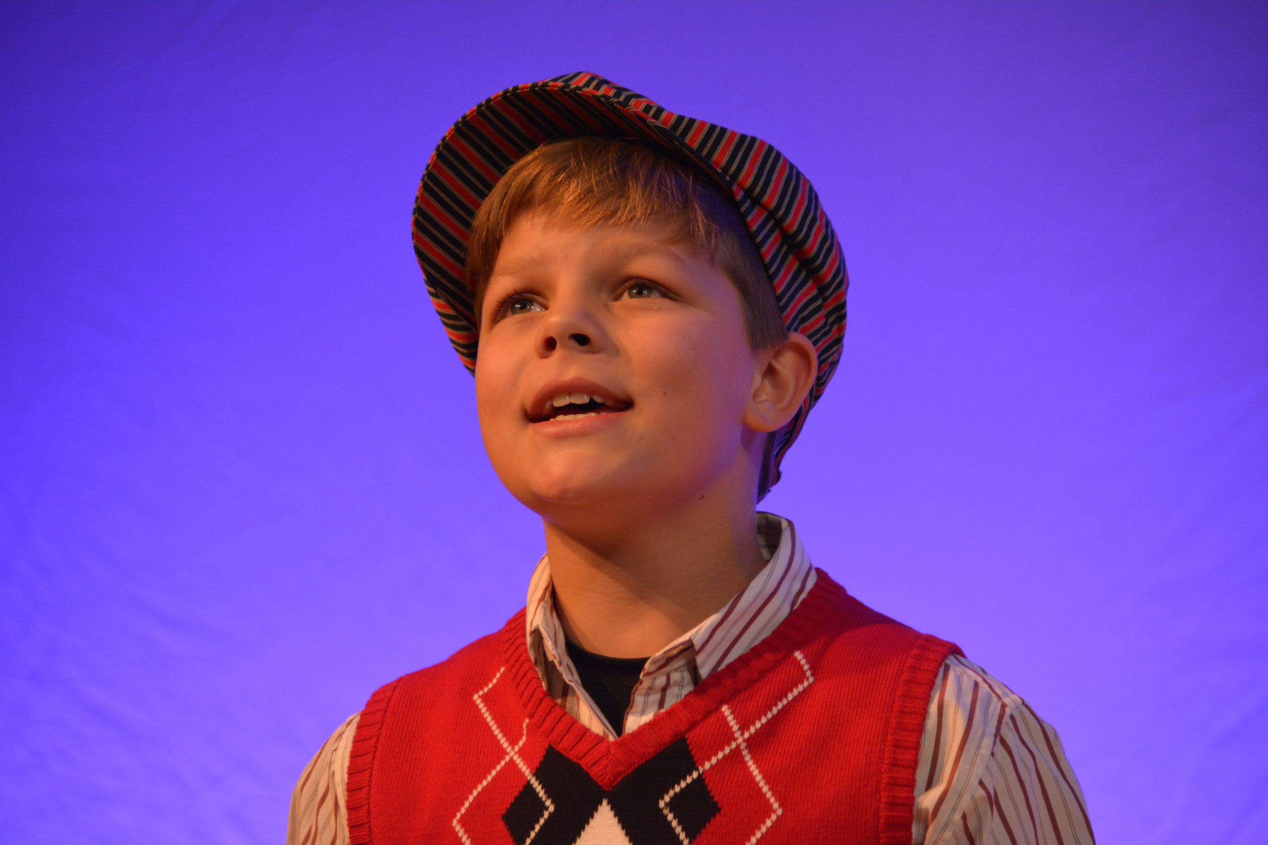 "Levi Reed is in this year's Guthrie production of ""A Christmas Carol."""