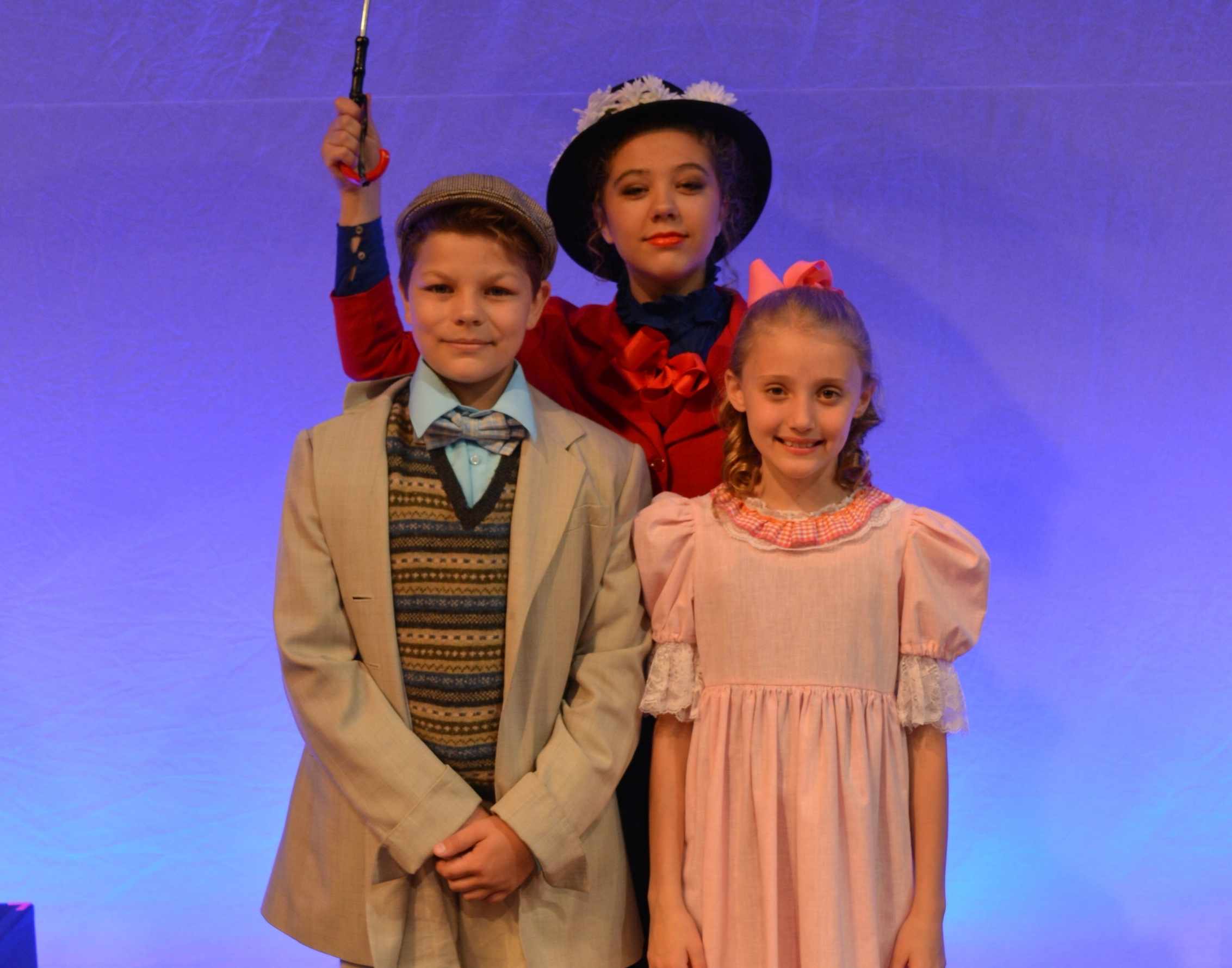 Mary Poppins  was one of three musicals Lundstrum produced this past summer.