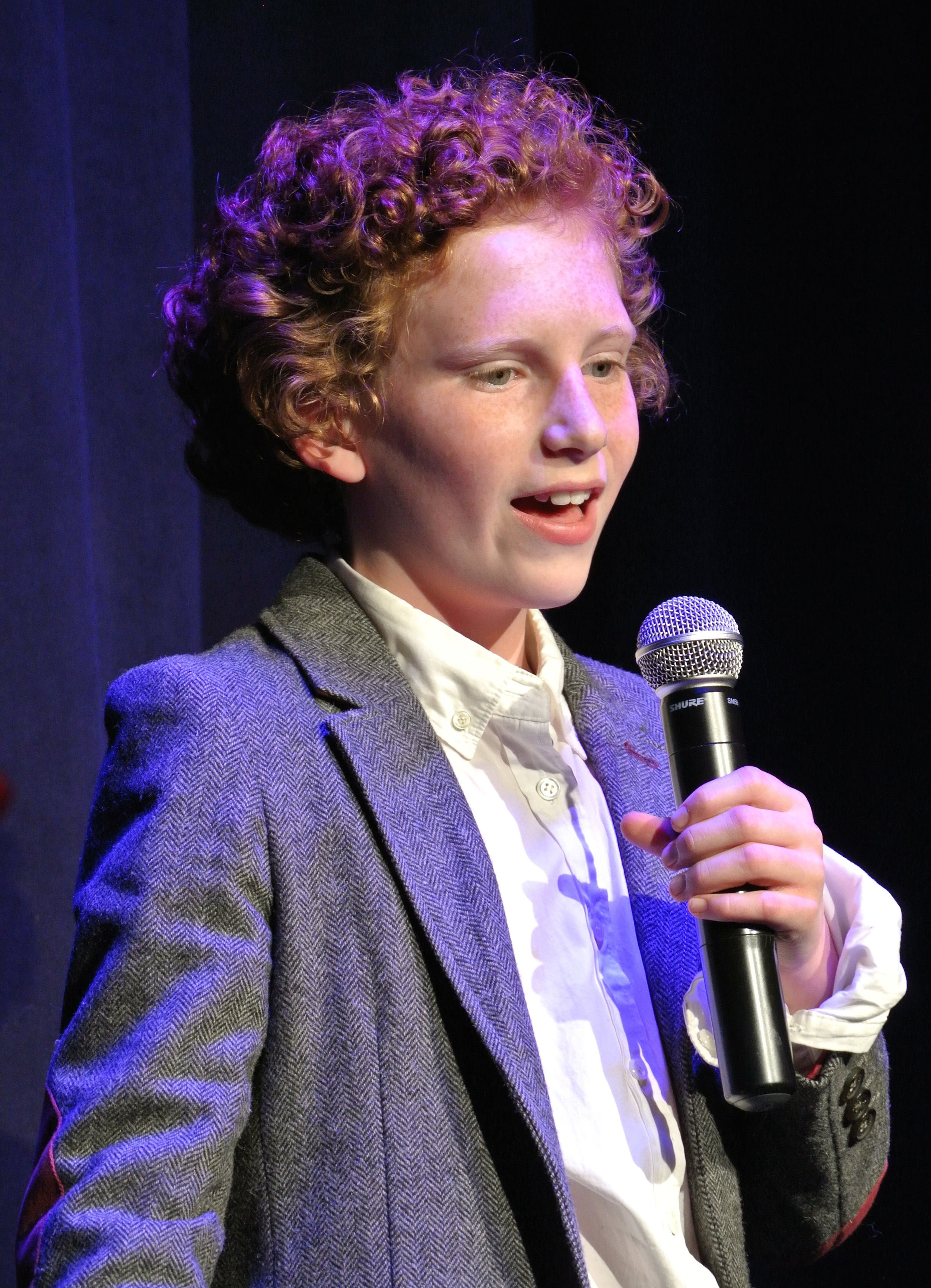 Daniel Untied performed at a voice recital.