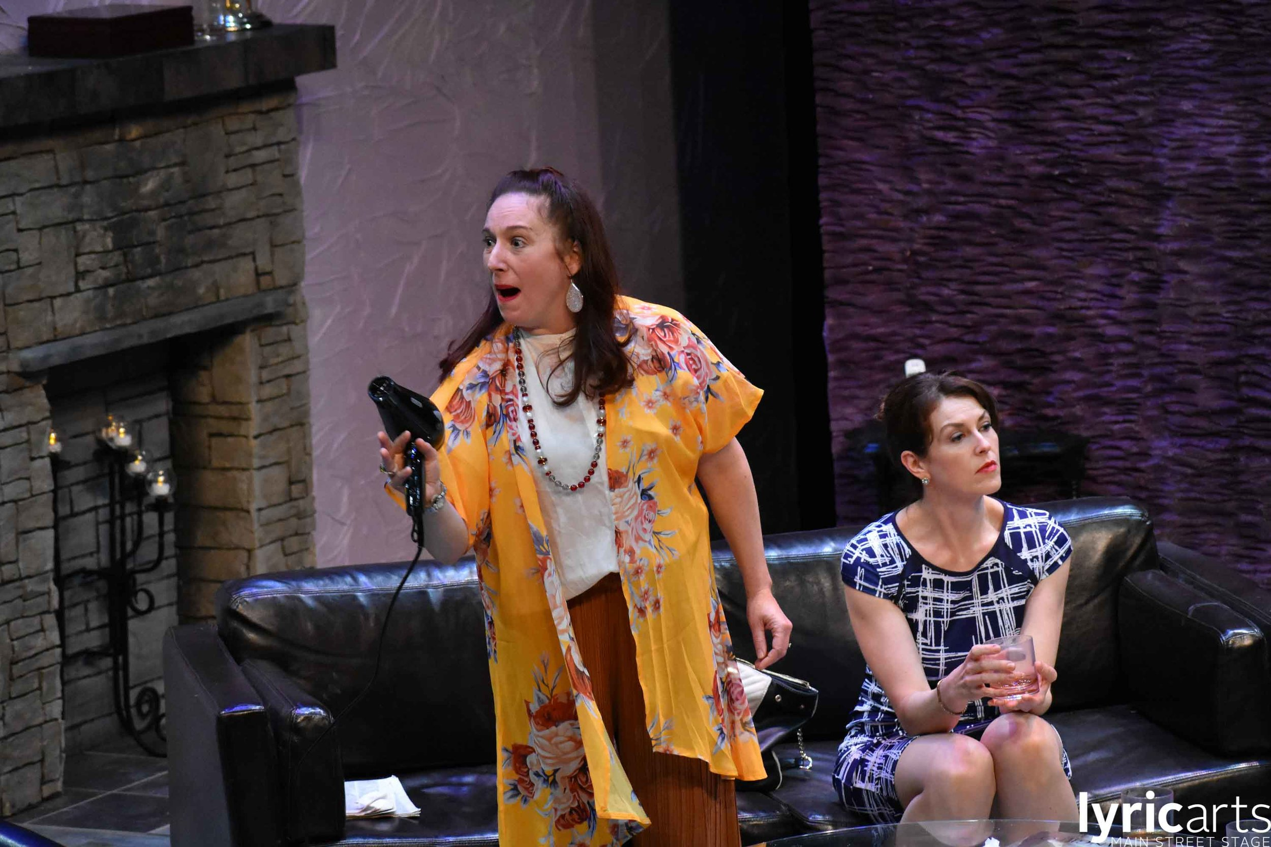 Katie Wodele in  God of Carnage  at Lyric Arts