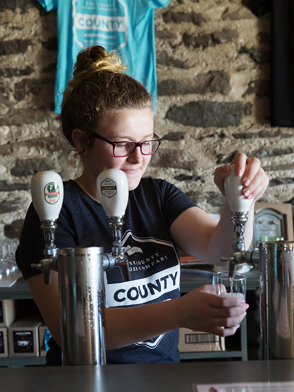 The county cider co. is one of many businesses participating in this year's wassail festival. © Jaime Kowal
