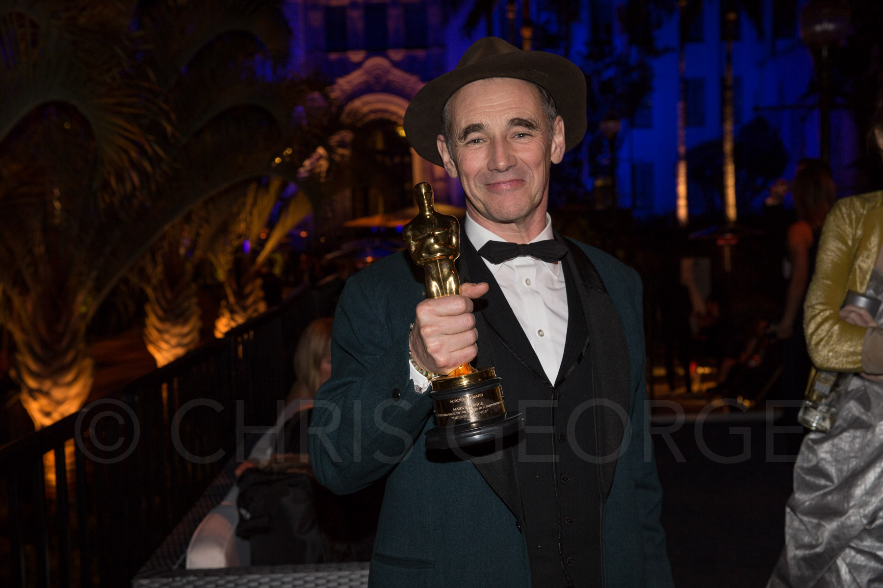 Mark Rylance, Best Supporting Actor, 2016