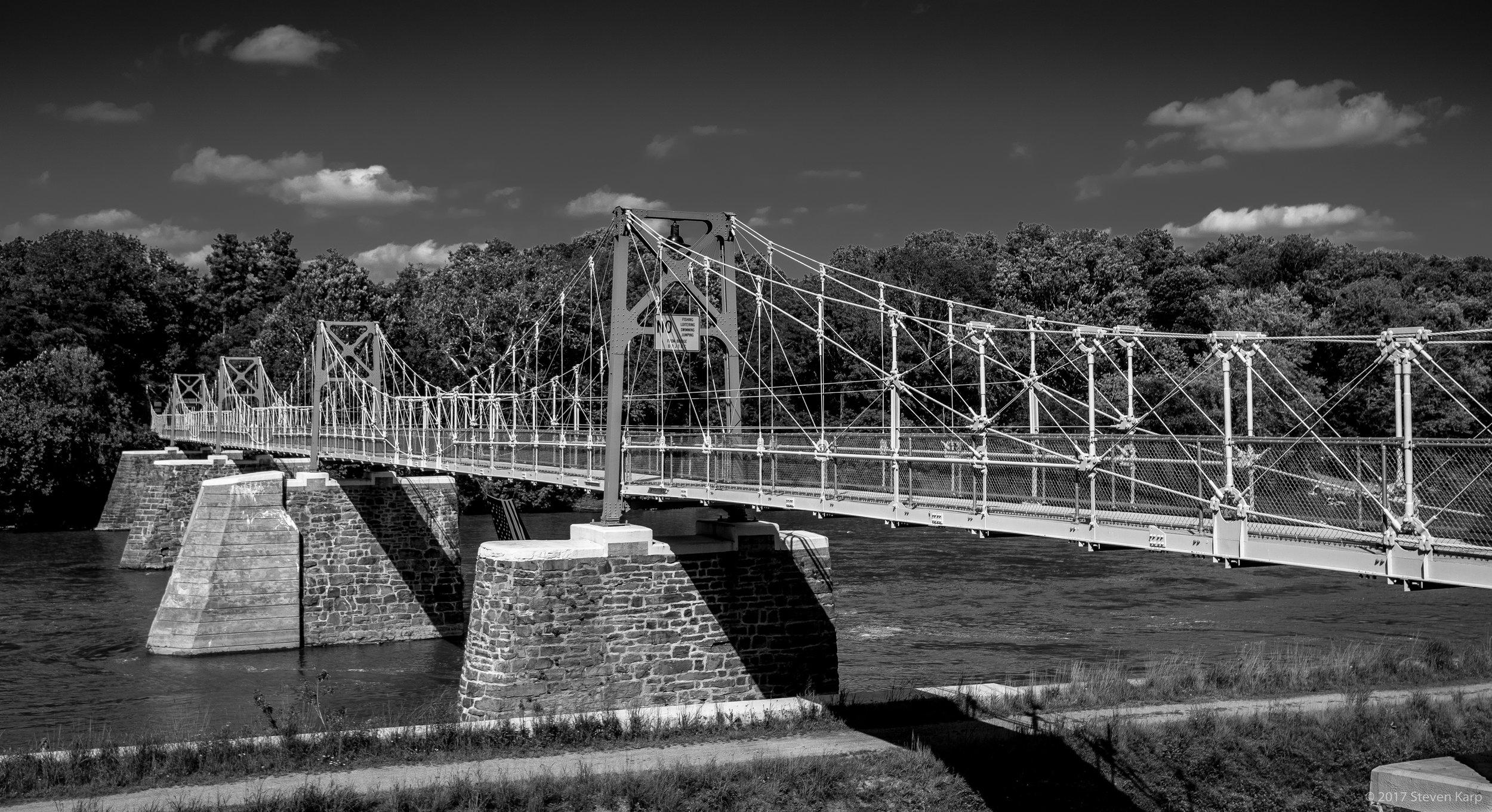 Raven-Rock Suspension Bridge