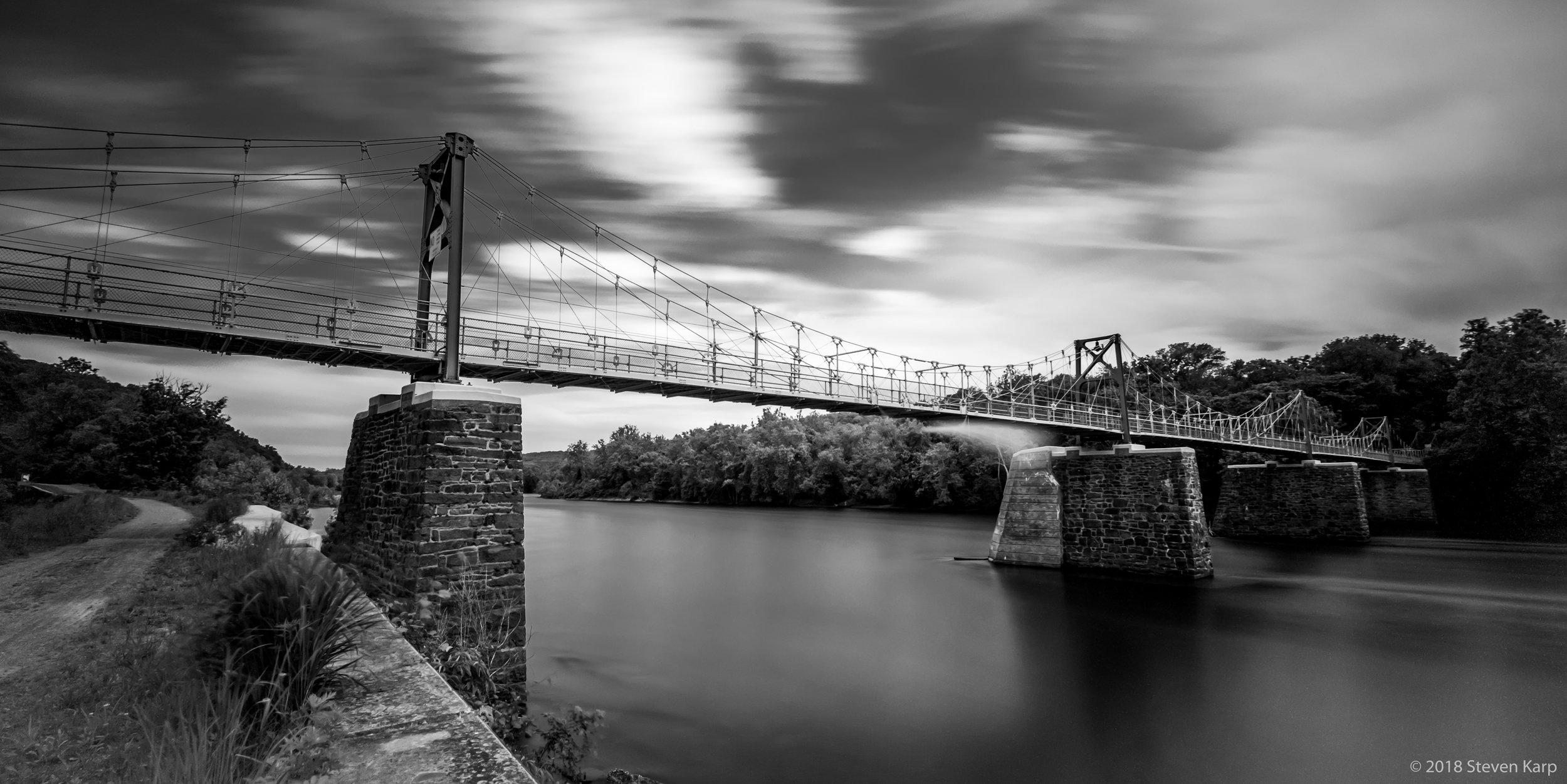Raven Rock Suspension Bridge