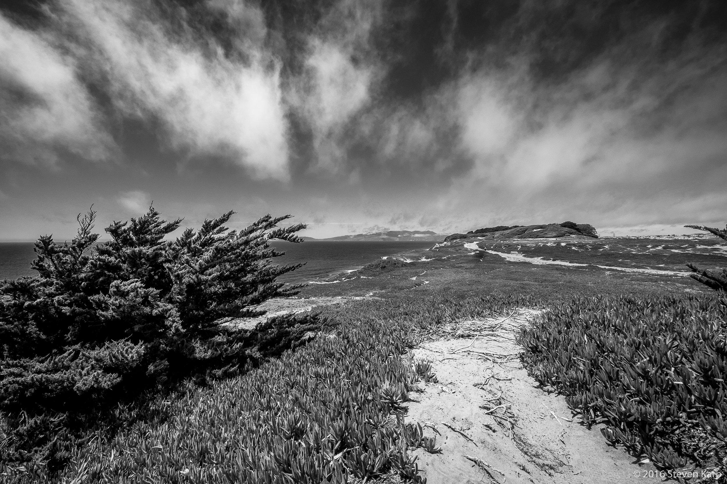 Monterey Bay & Clouds