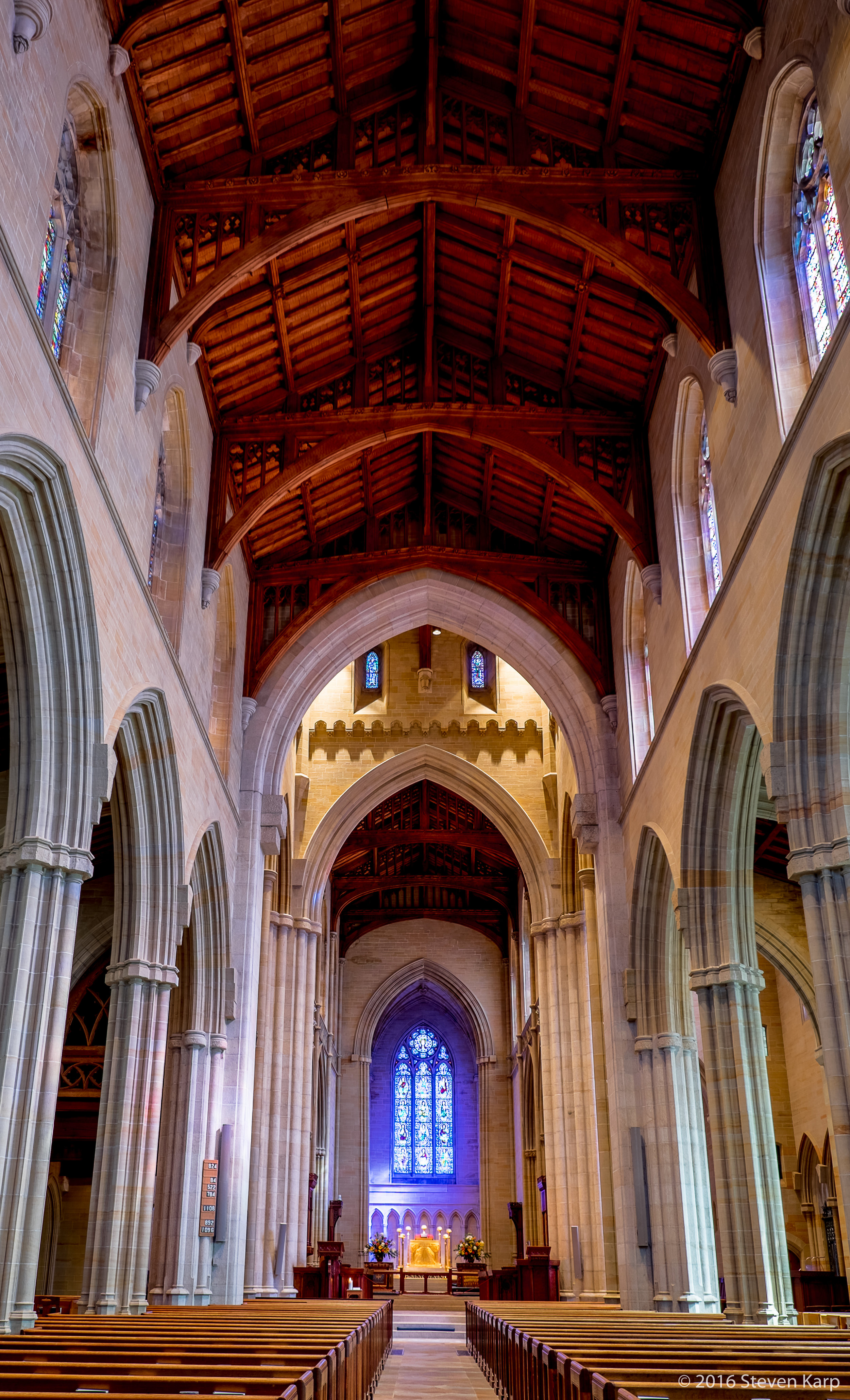 Bryn Athyn Cathedral- Nave & Alter