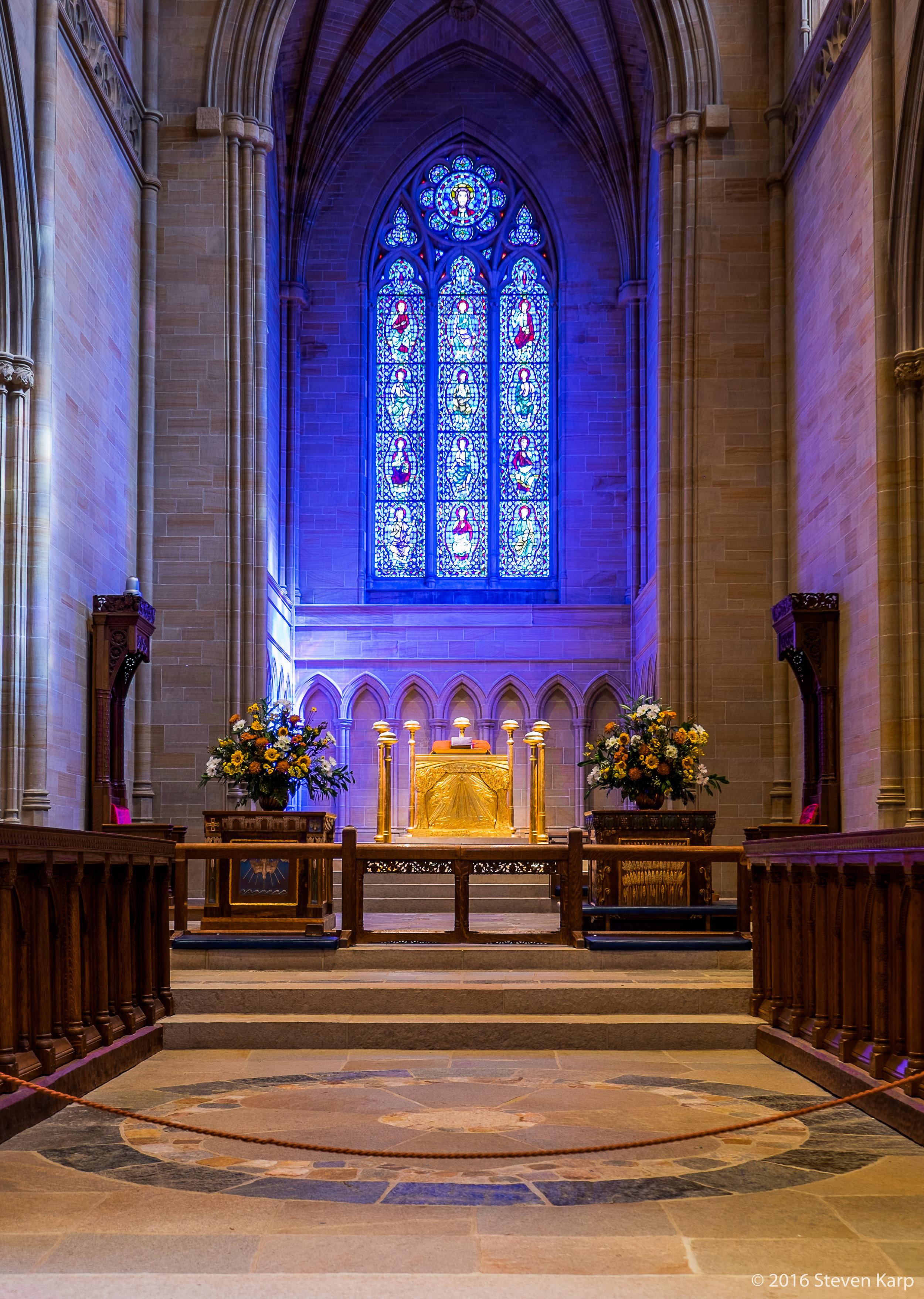Bryn Athyn Cathedral Alter