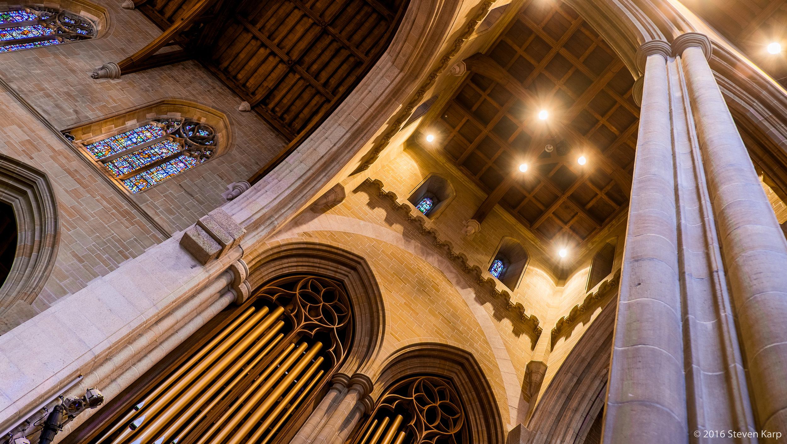 Bryn Athyn Cathedral, Interior, Organ Pipes