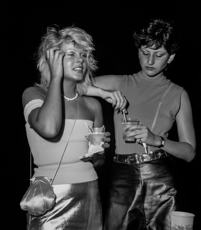 Two Ladies, Emerald City Night Club, NJ 1979