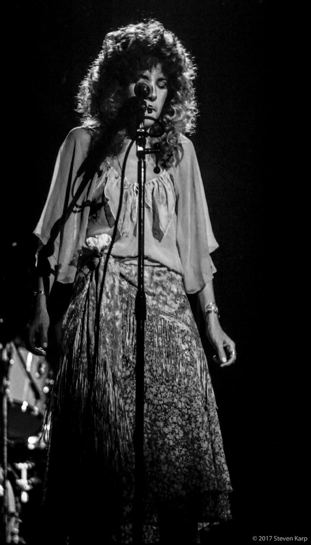 Fleetwood Mac, Stevie Nicks, in Concert, October 1975 ©2017 Steven Karp