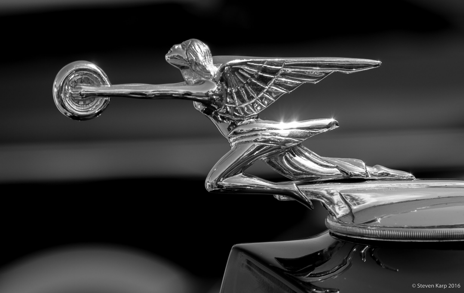 1937 Packard Hood Ornament