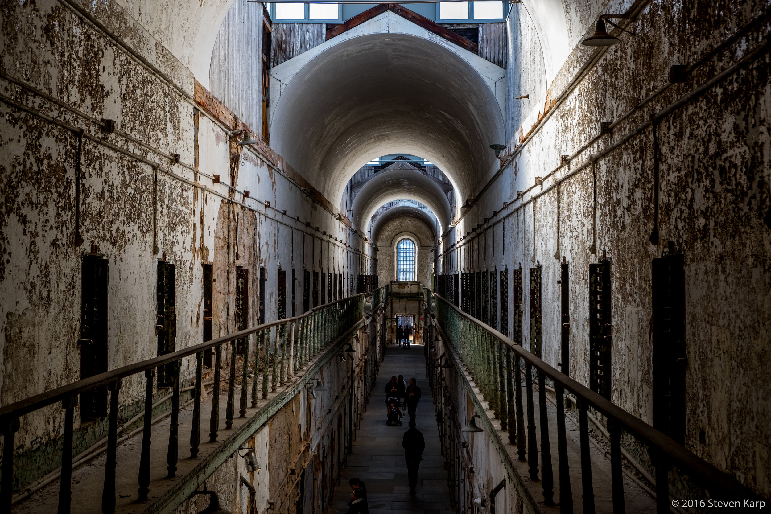 Eastern State Penitentiary Historic Site, Philadelphia, Pennsylvania.