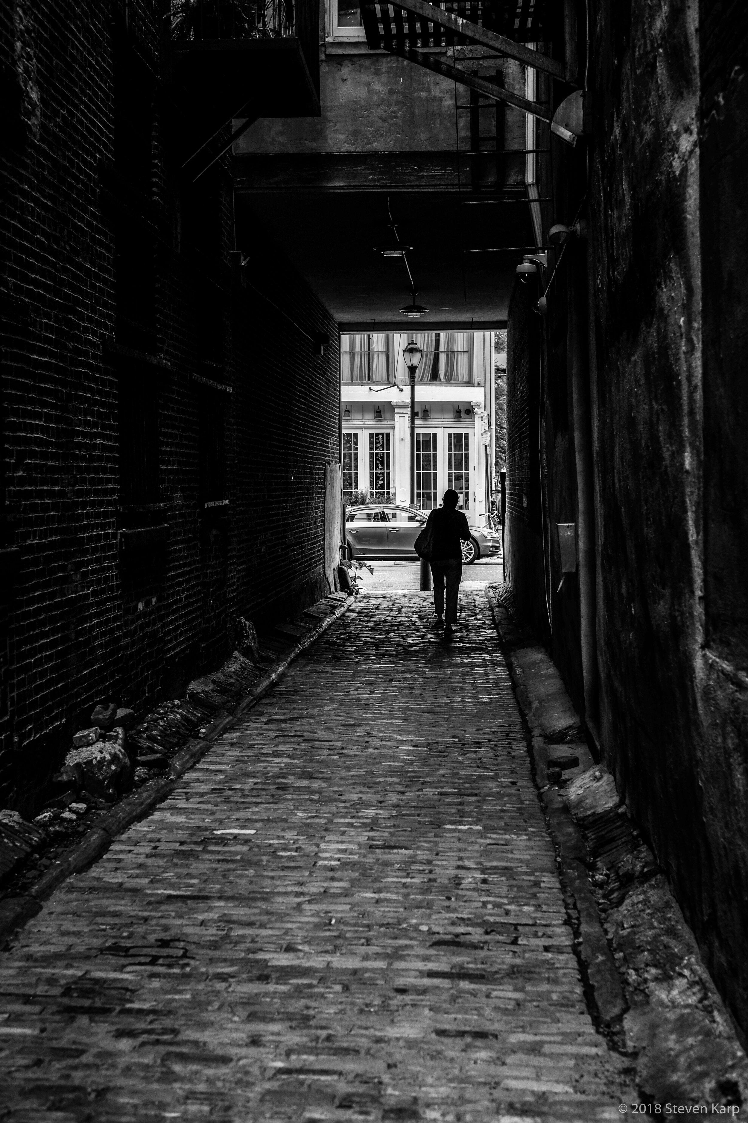Old City Alley ©2018 S. Karp