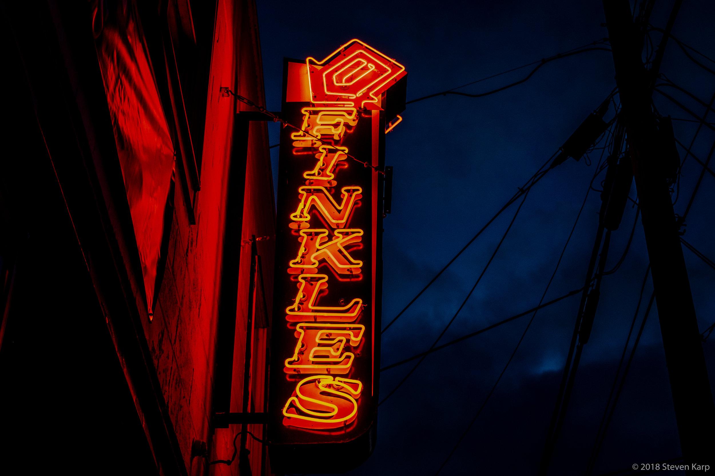 Neon Sign ©2018 S. Karp