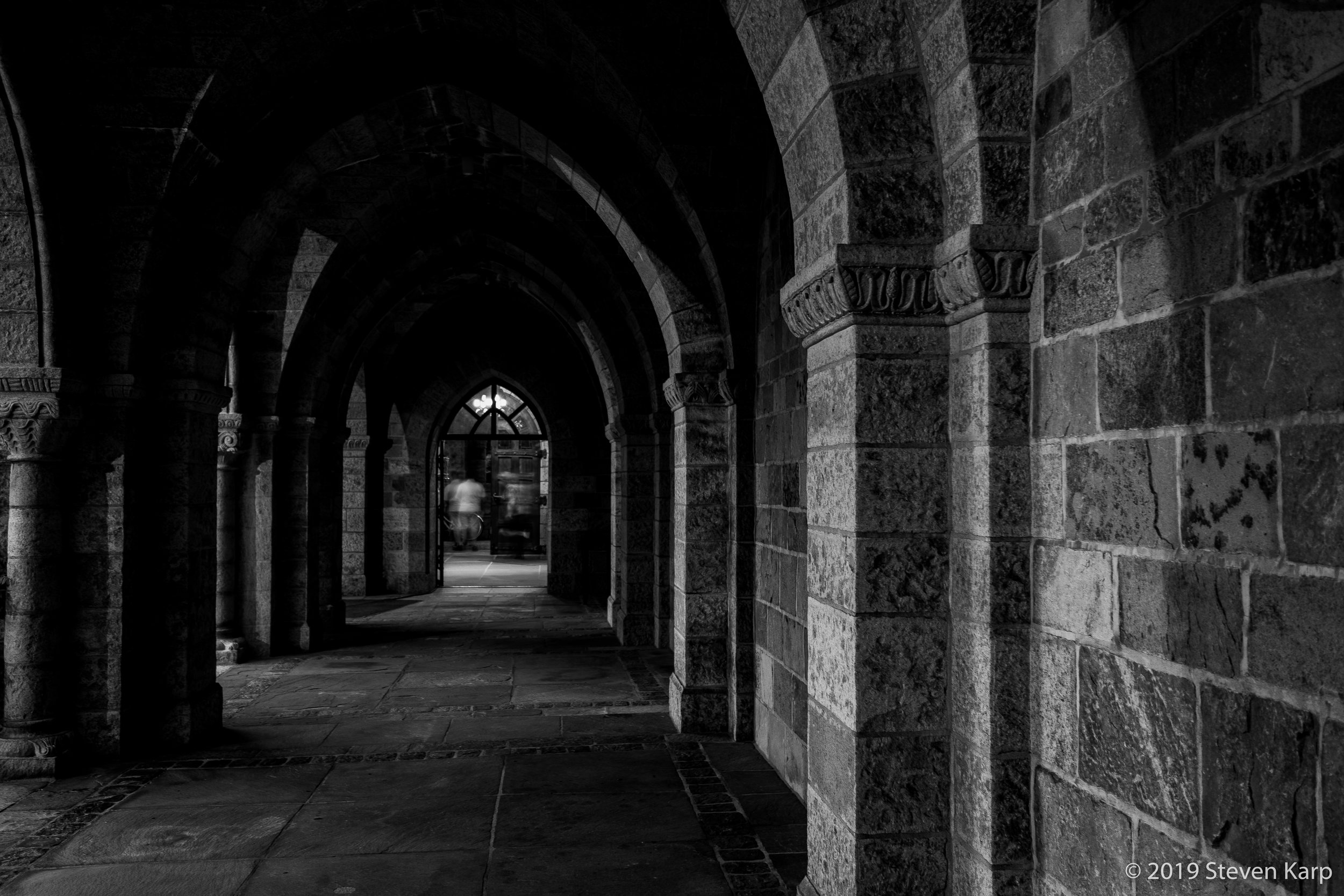 Cloisters, Bryn Athyn Cathedral ©2018 S. Karp