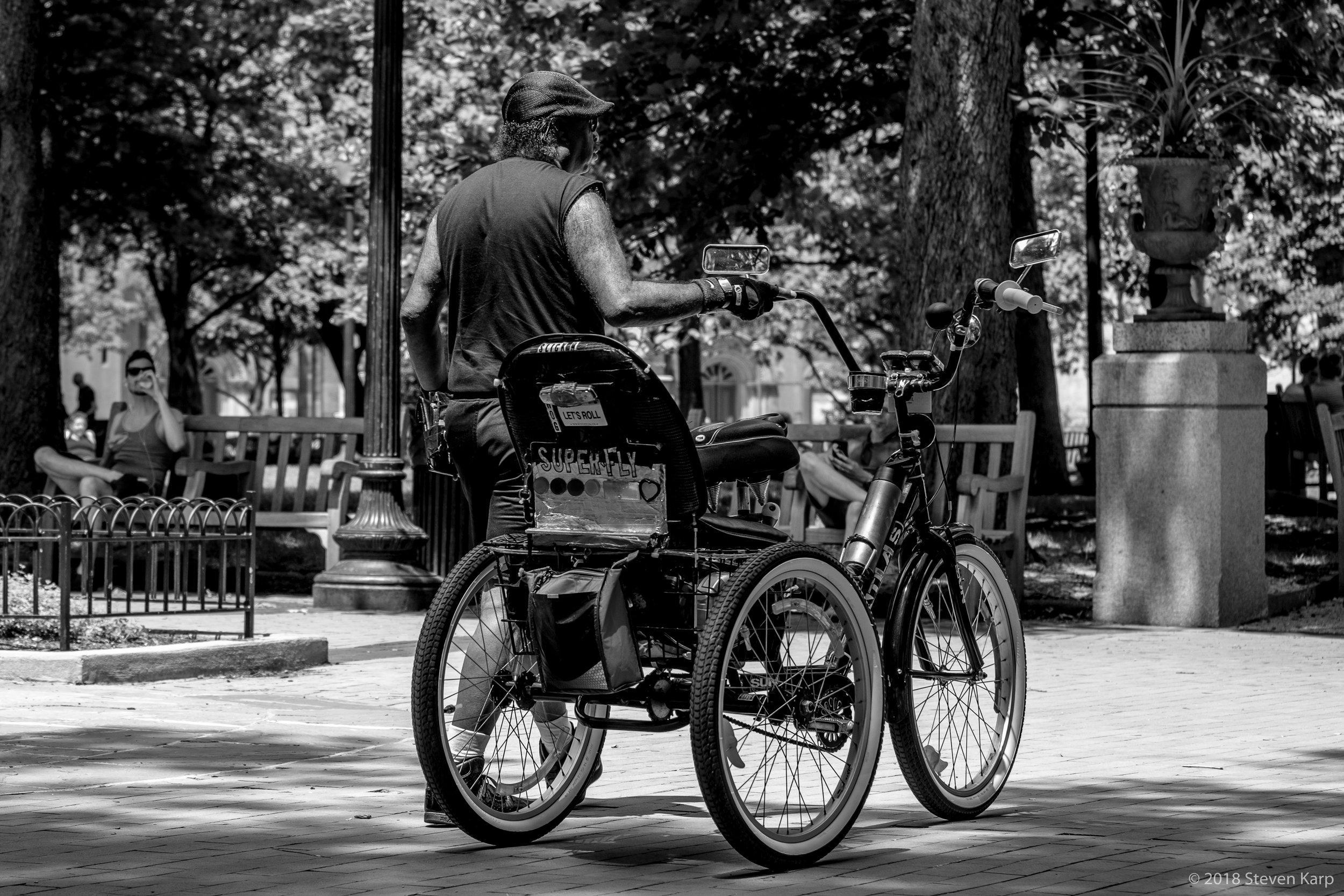 Let's Roll, Rittenhouse Park ©2018 Steven Karp